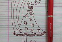 Drawings by Pooja Raikwar