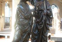 Verrocchio. Incredulità di Tommaso / Verrocchio. Incredulità di Tommaso, Bronzo, 1483. Firenze, Orsanmichele