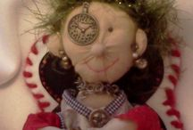 MoonDollz / Original hand-crafted art dolls from Laura's Etsy store. Custom orders accepted! / by Write | Market | Design