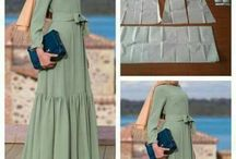 Абайа (традиционная арабская женская одежда)