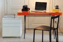 Coin bureau chez soi / Idée déco: petit coin bureau design pour chez soi