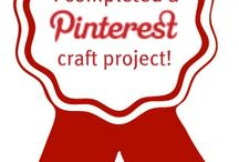 Pinterest projects completed