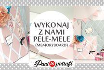 DIY - memoryboard - pele mele