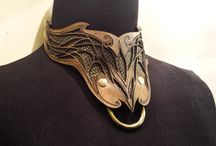 Jewelry and collars / Jewelry and Collars by Firebird Leather