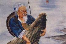 fishing painting04_рыбалка в живописи / рыбалка в живописи