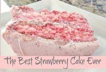 Strawberry cake / Sponge