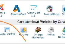cara buat web