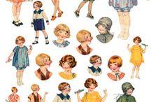 Niños vintage ideas ropa