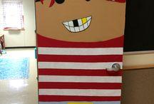 Literacy Week Door Decorating