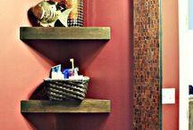 small corner shelves