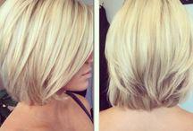 Cheveux au carré