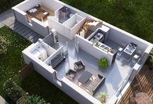 Architecture - Plans - 3D