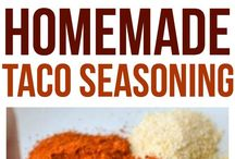 Recipes // Sauces and Spices / Save money and be healthier with these homemade sauces, spices, dressings and more.