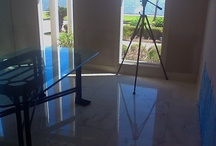 Magnificent Marble / Don't you love the look of polished marble?  See more at cleantileandmore.com.