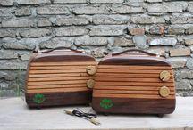 wooden radio HOOP