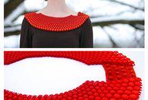 ispirazioni web: accessori moda / gioielli, borse, accessori per capelli... Realizzati con la stampa 3D.