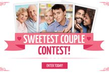 "Valentine's Day Contest / The Valentine's Day ""Sweetest Couple"" Contest from Central Square Florist"