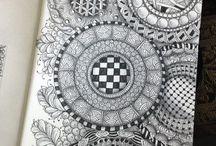 Muster und Grafik