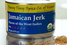 TTS Co. - Jamaican Jerk / Jerk is used to describe both the traditional seasoning as well as the open-fire cooking technique of this favorite Caribbean flavor. In addition to being used to add heat and richness to any dish Jamaican Jerk can be used as a dry rub or combined with a bit of oil or citrus juice to create a wet marinade for an exotic grilling experience.  As with all of our blends, we use Jamaican Jerk in our cooking from soups to nuts.