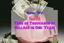 Money Saving Tips / Ways to save money throughout the year
