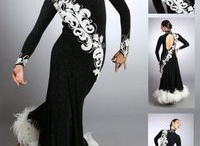 Ballroom competition dresses