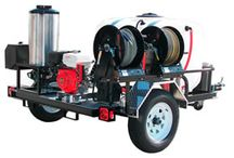 Top Professional Hot Pressure Washer Trailers / The pressure washer experts at Pressure Washers Direct have created a list of their recommended professional hot pressure washer trailers to help consumers.