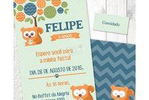 Festa Esquilo / Papelaria Digital para Festas Criativas. Compre no nosso site www.shopfesta.com.br