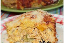 Receitas saudáveis salgadas / Torta de frango