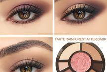 Maquillaje para ojos / Distintos tipos de sombra para los ojos