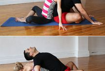 yoga with partner