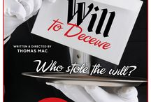 Will To Deceive, mystery dinner show / This show has been written, directed and features local writer, Thomas Mac.
