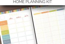 KK | Home Planners&Organizers / #flyladyfly #home #organizer #planner #binder