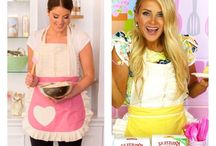 Gifts for her / Www.sugarbabyaprons.com Cute aprons, fancy ladies aprons girly fashionable aprons