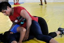 Meet Neetu - Indian woman wrestler / http://thevoiceofnation.com/sports/once-a-child-bride-21-year-old-neetu-is-determined-to-put-india-on-world-map-of-wrestling/