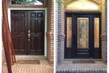 Before & After / Take a look at our before and after shots of door and window projects we've done.