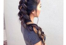 Fishtails, braids, ponytails...