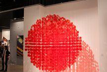 Installations creatives et l'infinie