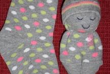 sokken knutselen