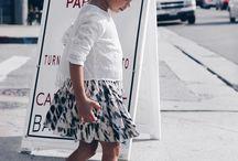 Fashion on children's street