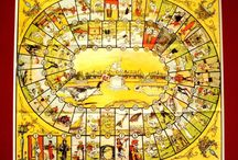 Sugoroku games / Pachisi, Parcheesi, Backgammon, Monopoly, 双六 etc