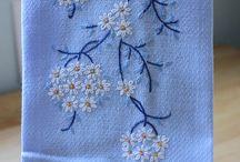 Denim embroidery