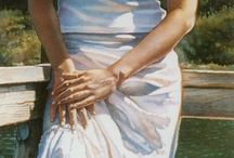 Painting Steve Hanks