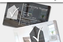 Real Estate Business Cards / We have variety of card templates for estate agents or the one in property business. You can personalise the card layout as per your need.