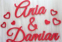 imiona  nowożeńców na ślub, wesele