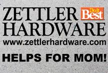 Zettler Helps for Mom! / Mother's Day or Any Day! We can help! See us for unique gifts.