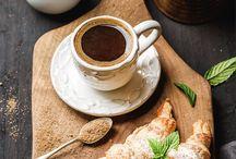morning, coffee & breakfast