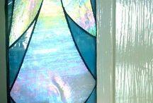 Vitráže sklo