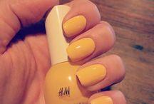 H&M polish collection / Sky High