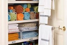 Linen Closet Inspiration / Diggory Clients, use this board as your inspiration to Dee-clutter and organise your linen closet. Leave your comments, I would love to know how you get on. Dee