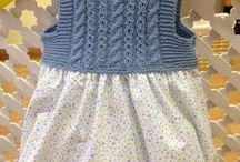 Kid Kniting Dress